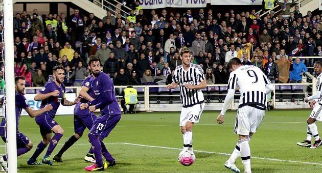 Juventus Habisi Fiorentina dengan skor 0-2