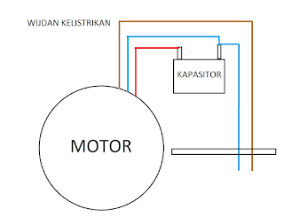 cara memperbaiki kapasitor pada pompa air