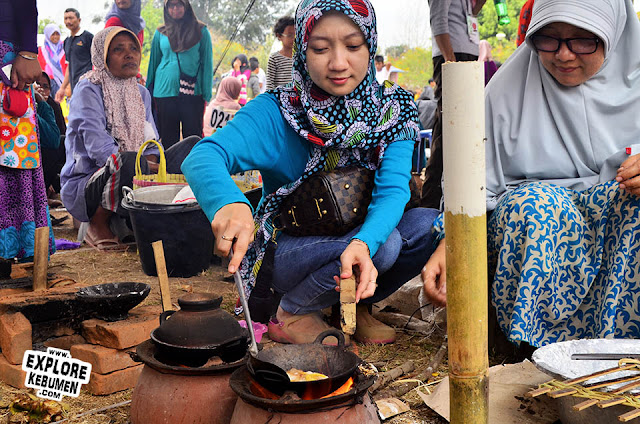 Foto Festival Serabi Kebumen