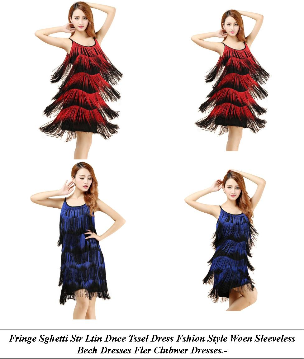 Formal Dresses For Women - Next Sale Womens - Polka Dot Dress - Cheap Fashion Clothes