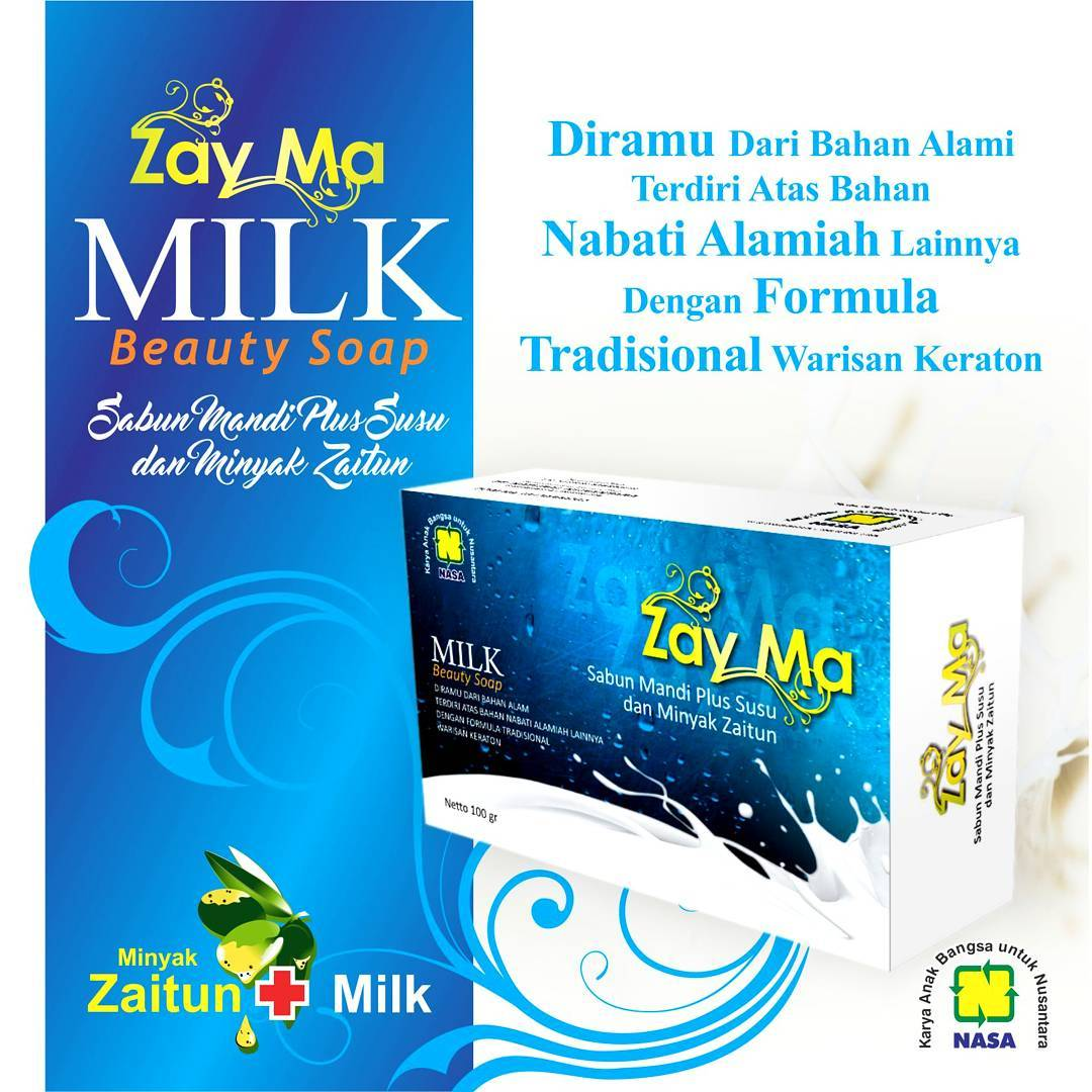 Milk Beauty Soap, Kulit Jadi Putih dan Lembut