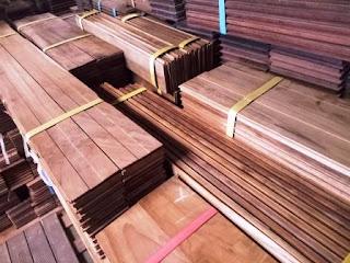 kayu jati flooring