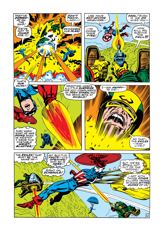 Read online Captain America (1968) comic -  Issue #102 - 13