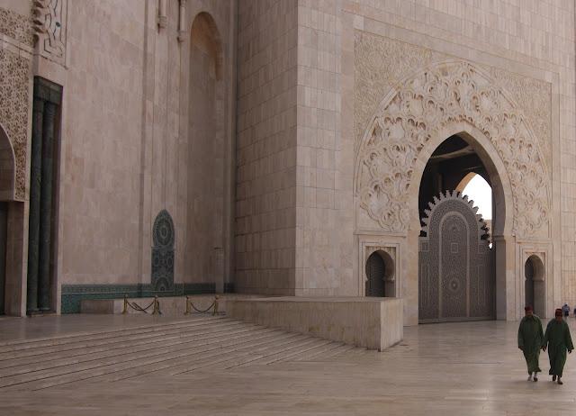 Casablanca, Marruecos, Gran Mezquita, Hassan II, blog de viajes, puerta real