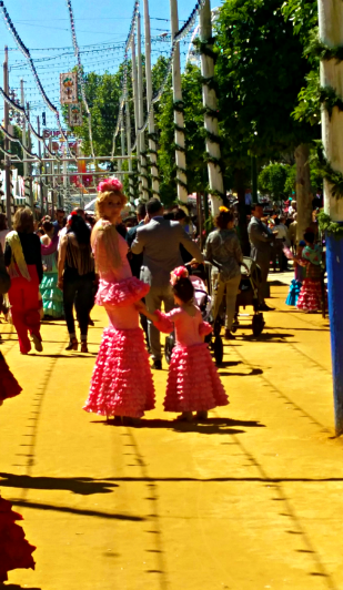 Flamenco Dresses at Feria