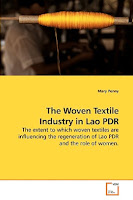 Lao book review - The Woven Textile Industry in Lao PDR by Mary Penny