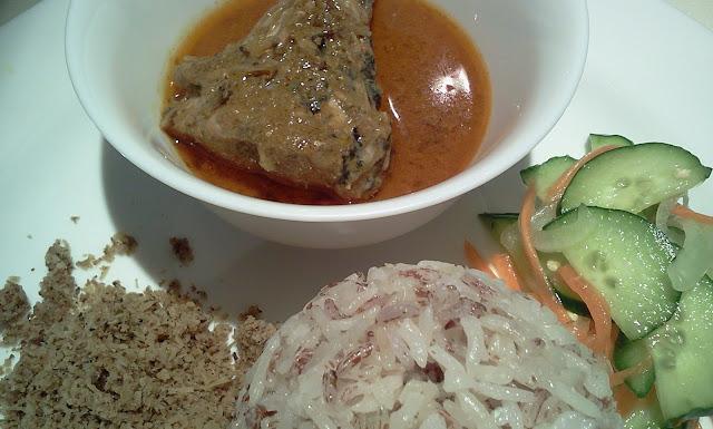 Resepi Nasi Hujan Panas Dan Daging Masak Hitam - Soalan 75