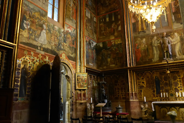 chapelle Saint-Venceslas cathédrale Saint-Guy Prague