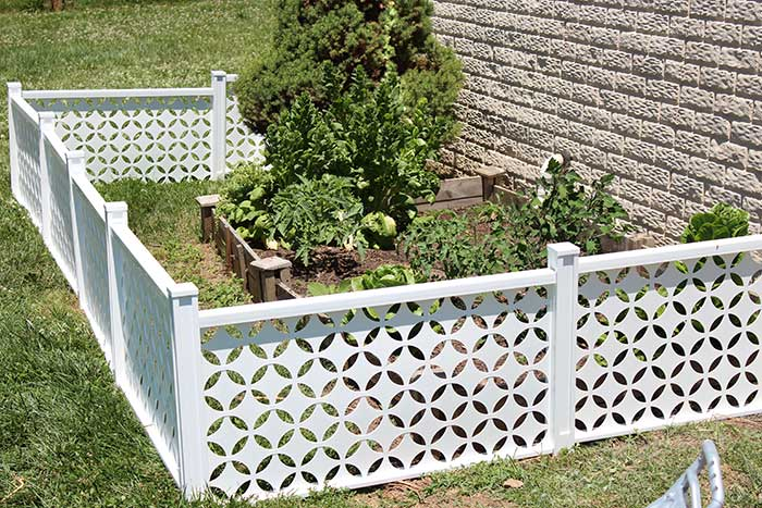 Easy Dog Proof Garden Fence