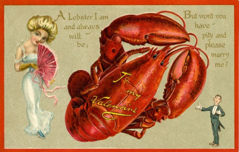 41 Interesting Valentine's Postcards From the Victorian and Edwardian Eras ~ vintage everyday