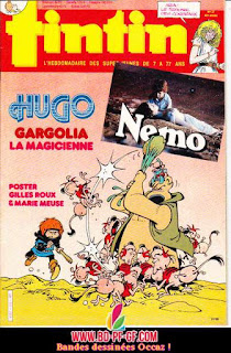 Gargolia la magicienne, tintin 27, 1985
