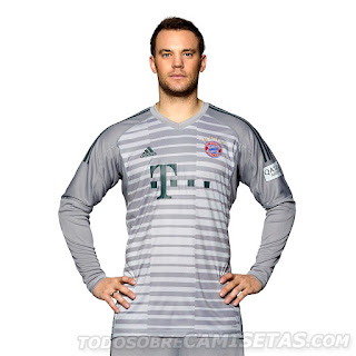 Bayern Munich 2018-19 Adidas Goalkeeper Kit