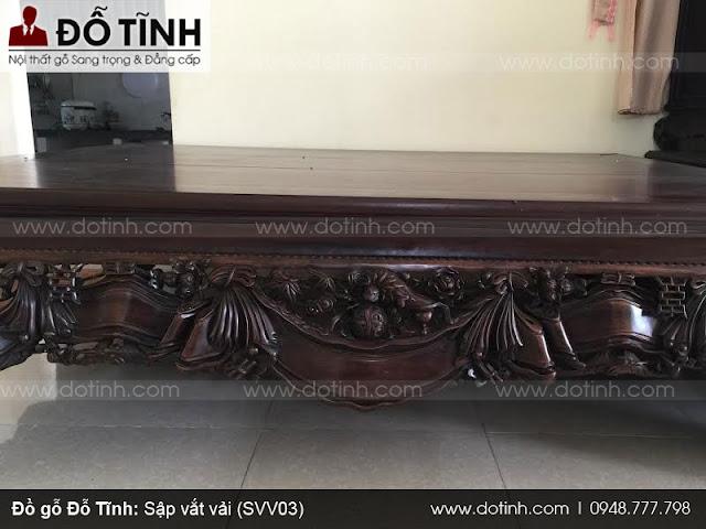 Bộ sập gỗ cổ - Sập vắt vải (SSV03)