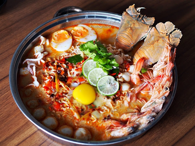 Pim's Super Seafood Tom Yum Pot 1-3 pax For RM 98