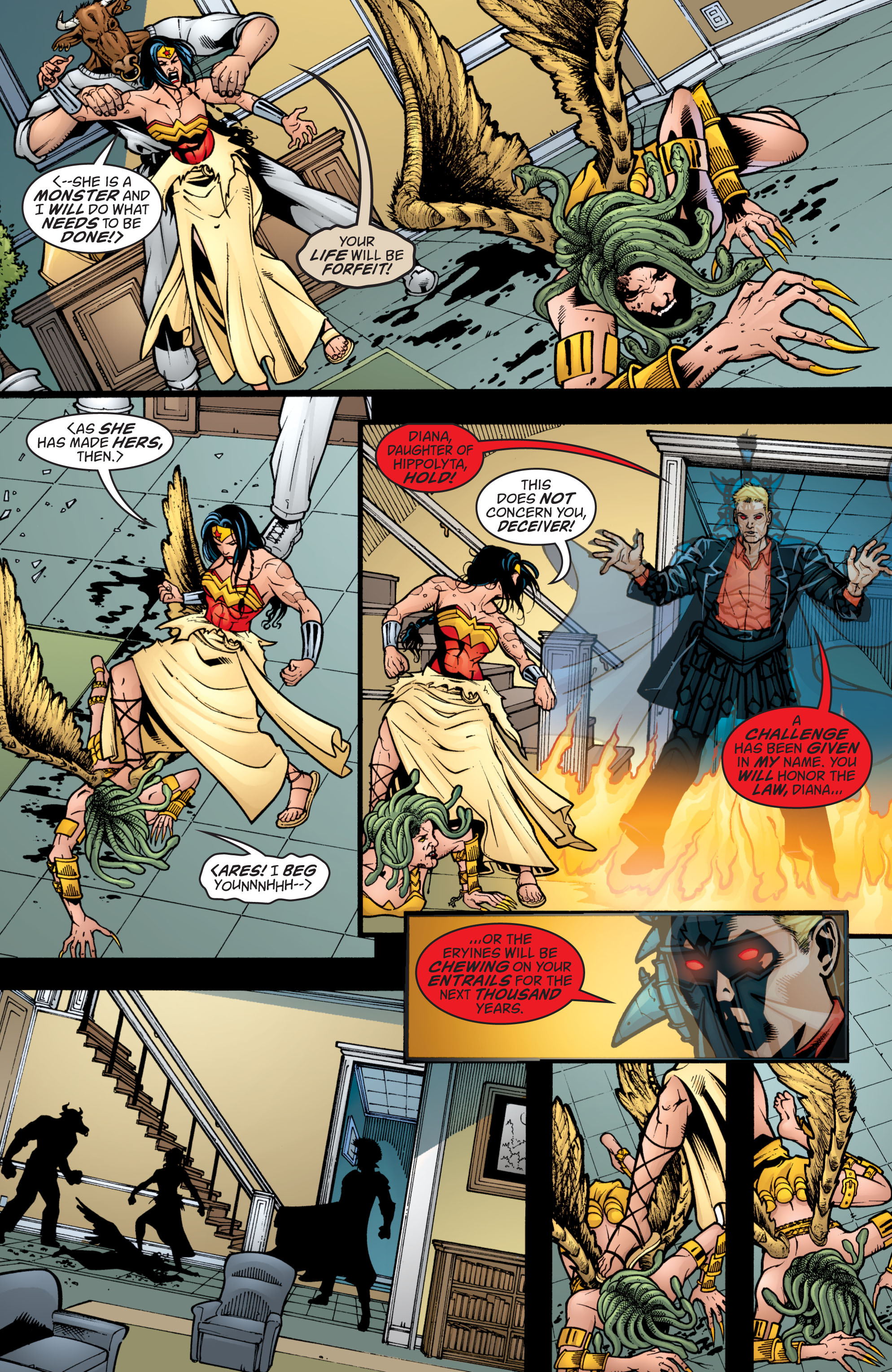 Read online Wonder Woman (1987) comic -  Issue #209 - 17