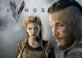 Ragnara snd Lagertha from The Vikings
