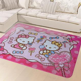 Gambar Karpet Hello Kitty yang Lucu 5