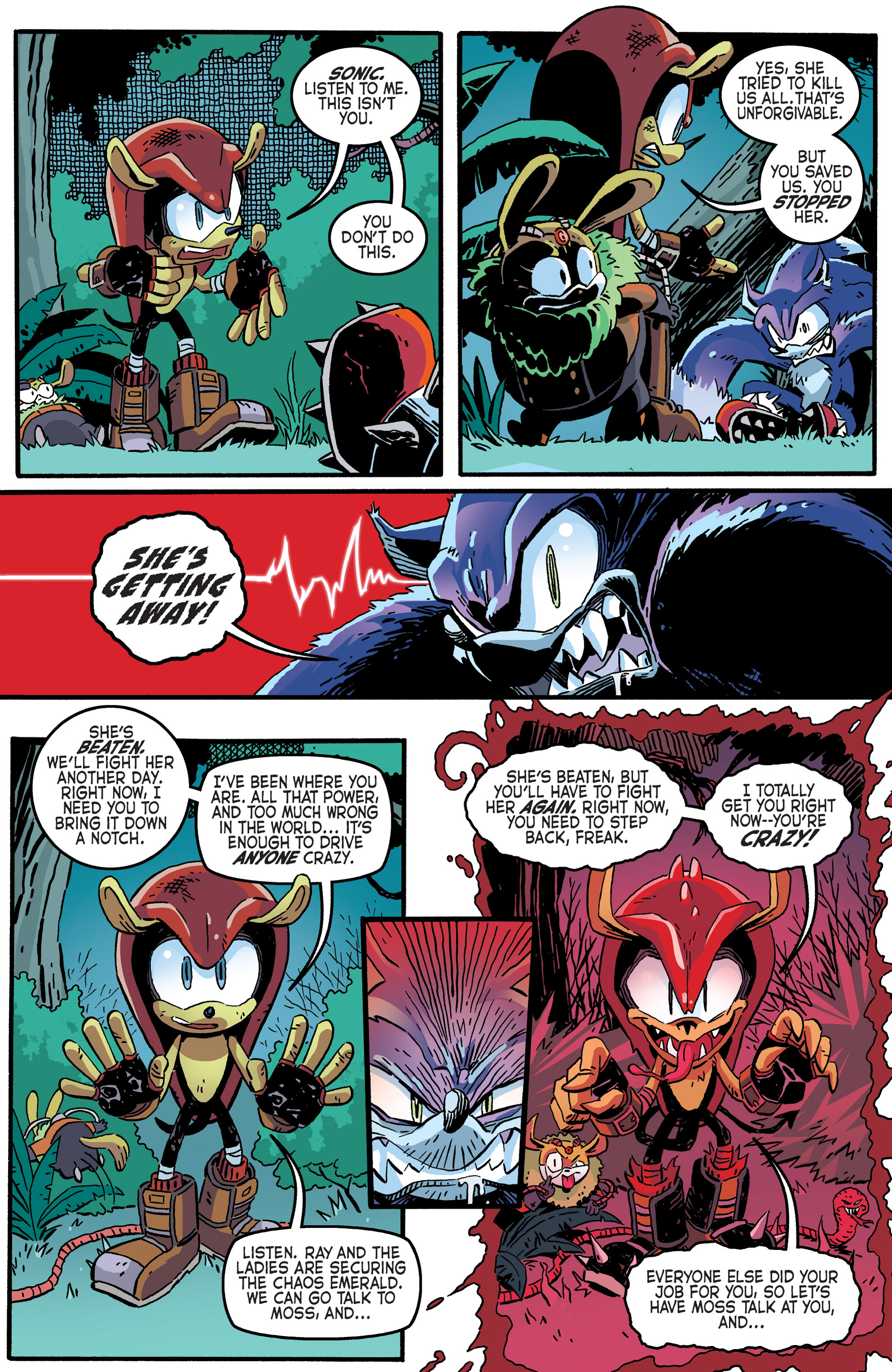 Read online Sonic The Hedgehog comic -  Issue #265 - 9