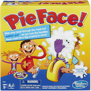 Pie face game at Target