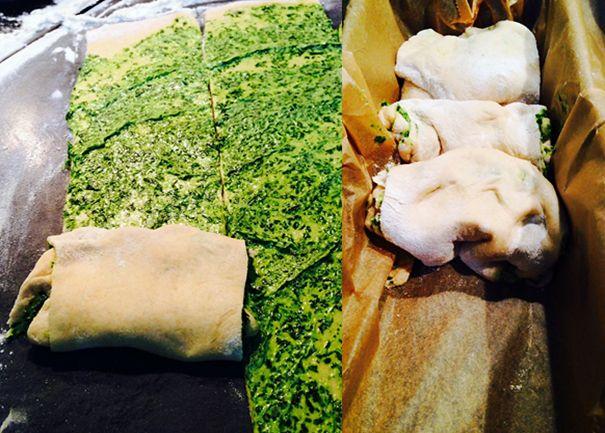 Experimente aus meiner Küche: Bärlauchbrot #breadbakingfriday