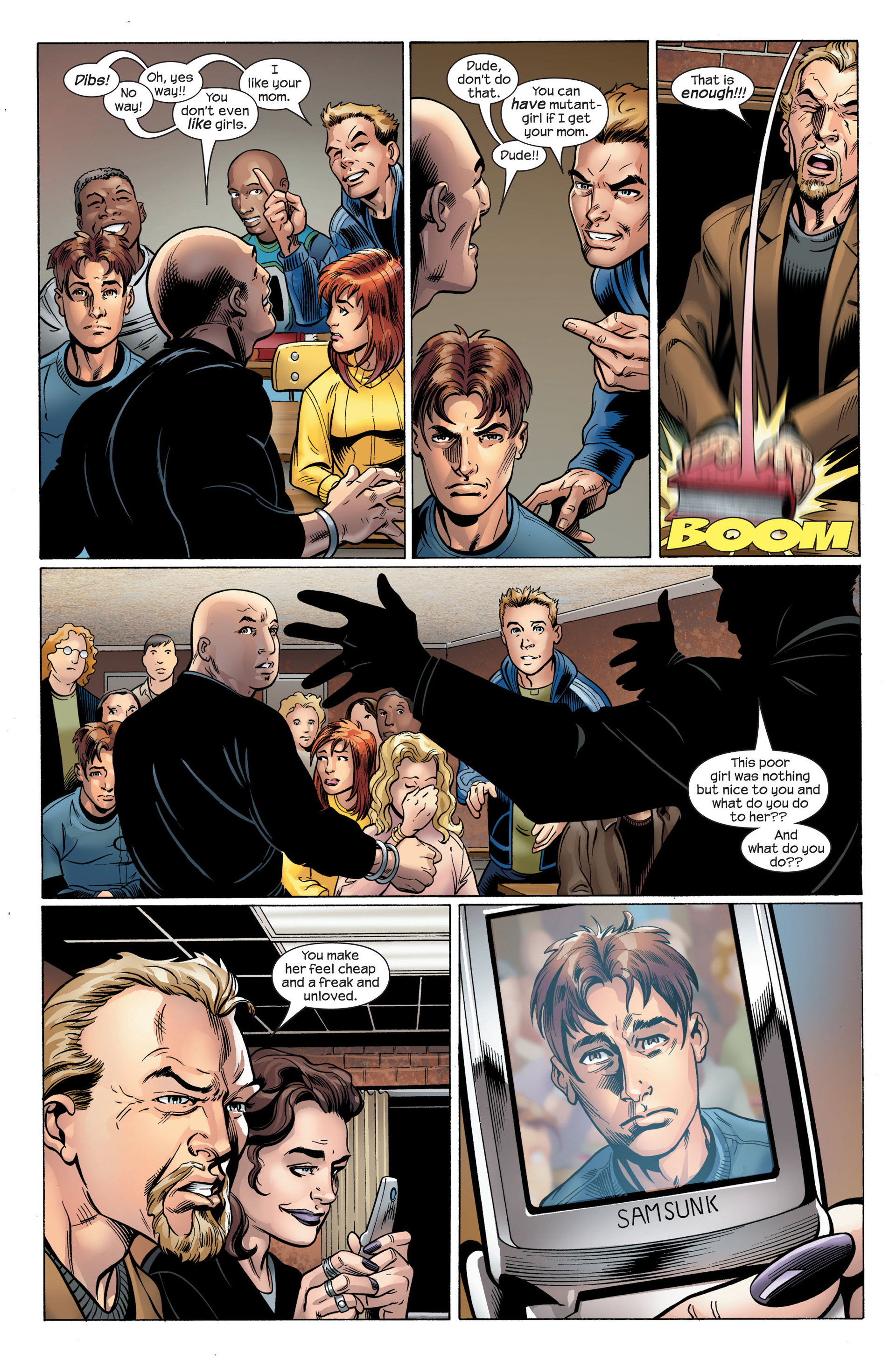 Read online Ultimate Spider-Man (2000) comic -  Issue #107 - 6