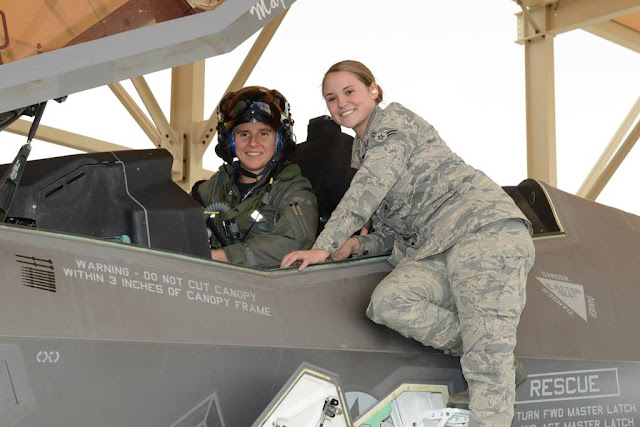 First female F-35 test pilot
