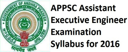 Latest APPSC Assistant Executive Engineer Concept Wise Exam Syllabus 2016 | APPSC Jobs Notification Appsc Group 2 Group 1 Group 3 Notification Syllabus Model Papers