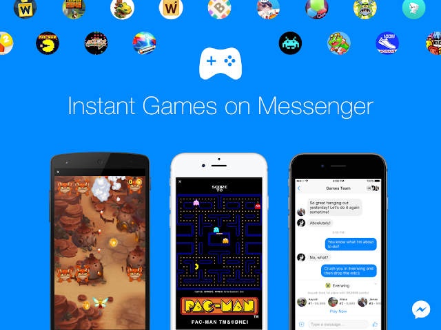 Facebook Messenger Instant Games - a better social experience