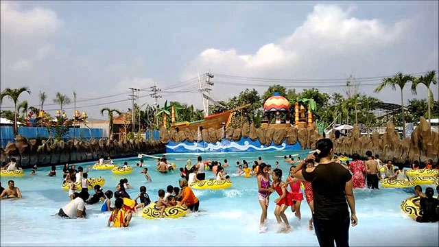 Suncity water and theme park madiun
