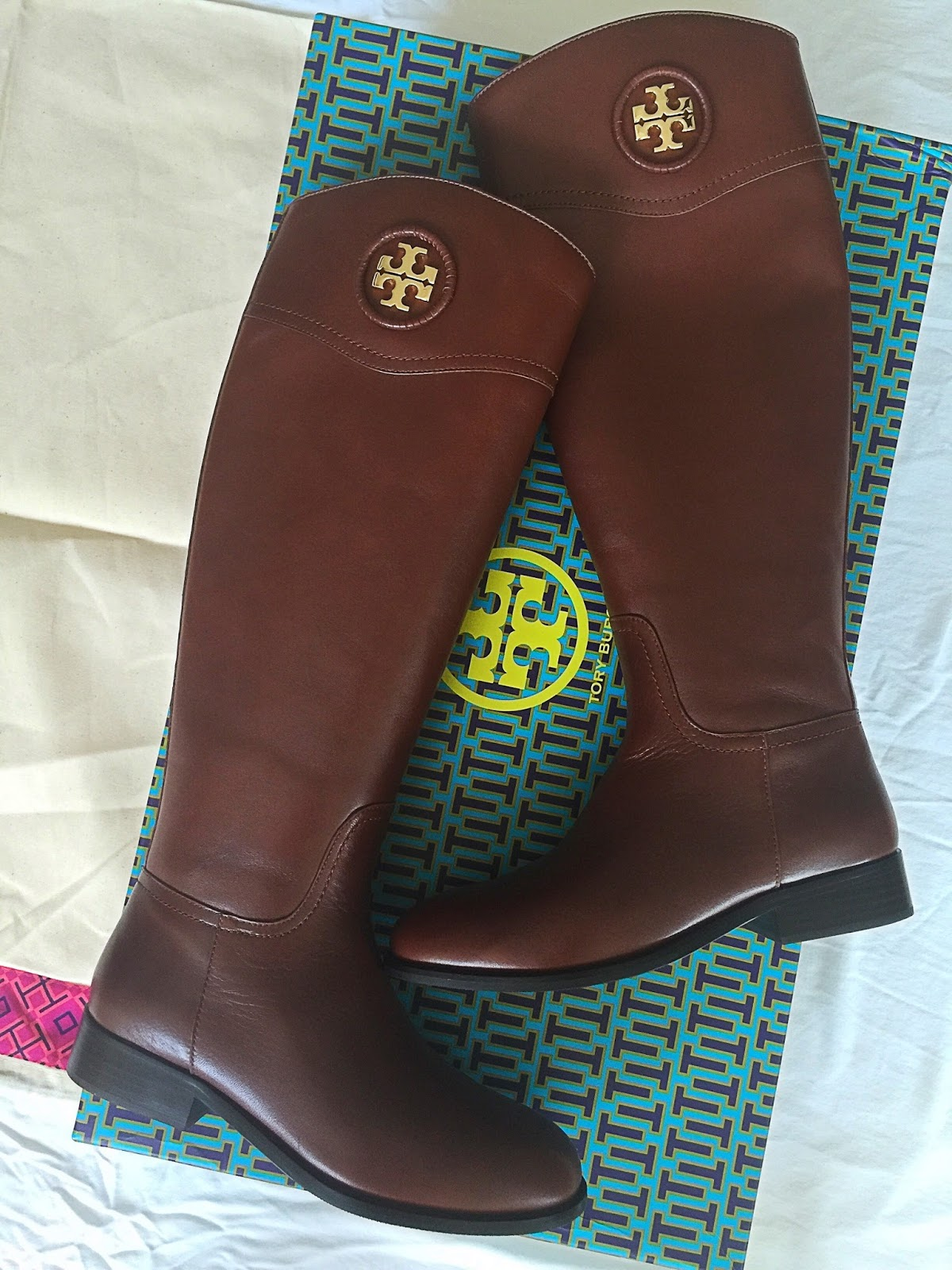 Something Delightful Blog: Tory Burch Riding Boots