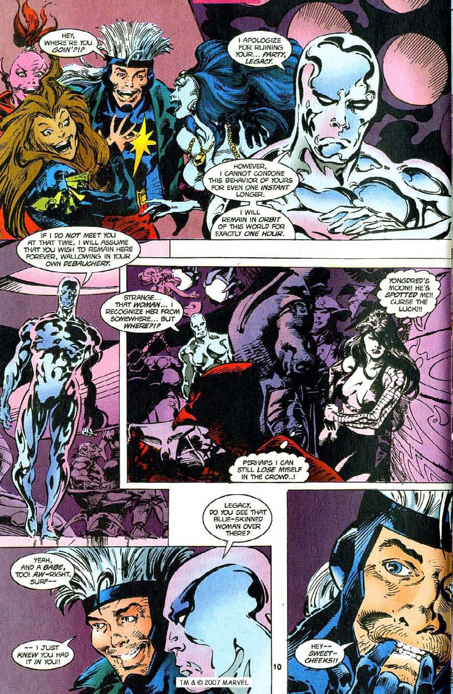 Read online Silver Surfer (1987) comic -  Issue #110 - 12