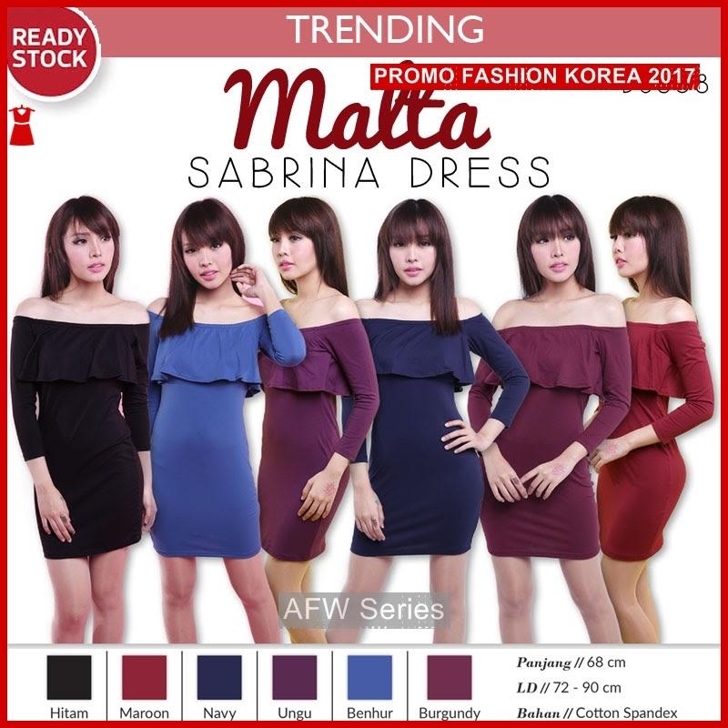 BAMFGW148 Malta Bodycon Dress Wanita PROMO BMG