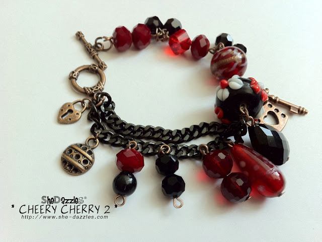 ar267-red-cherry-charm-bracelet