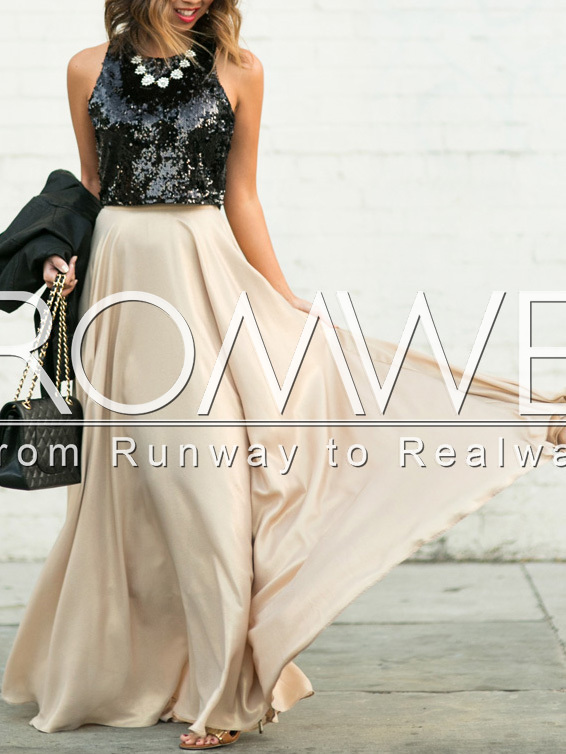 www.romwe.com/Black-Apricot-Sequined-Splicing-Flare-Maxi-Dress-p-149995-cat-724.html?utm_source=simply2wear.com&utm_medium=blogger&url_from=simply2wear