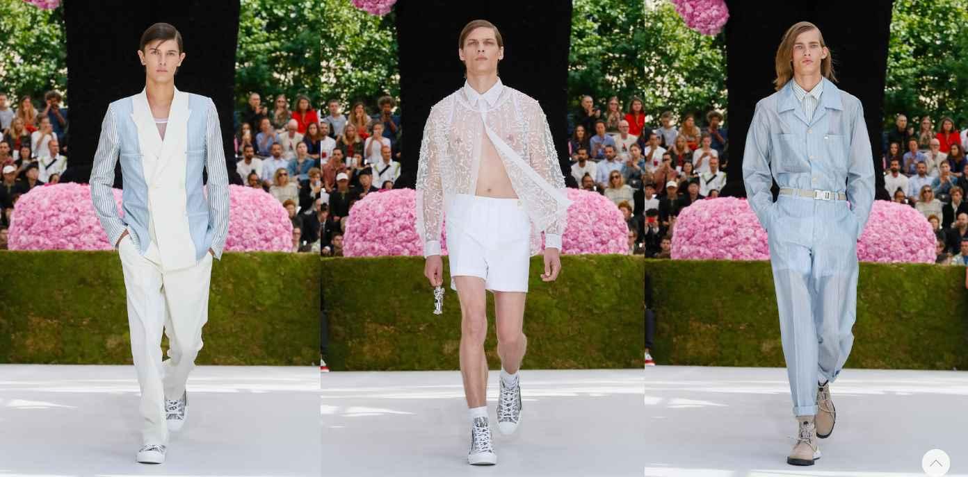 Dior Homme Spring-Summer 2019 - Paris Fashion Week