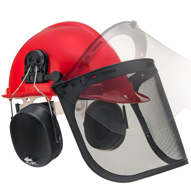 best cheap chainsaw safety helmet