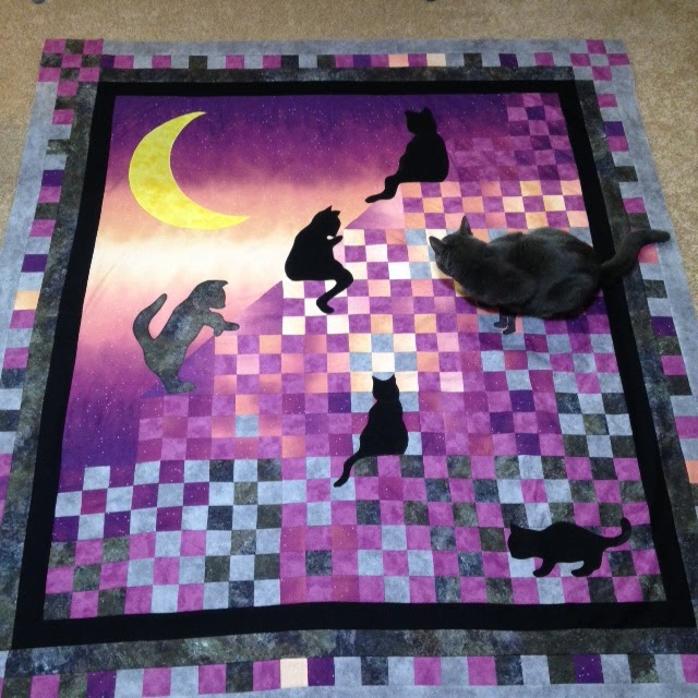 The Magic of Quilting: Stairway to Cat Heaven