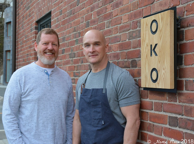 Rick Hoag and Brian Lewis at OKO Westport