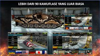 Tanktastic 3D Online Mod Apk Unlocekd all tank