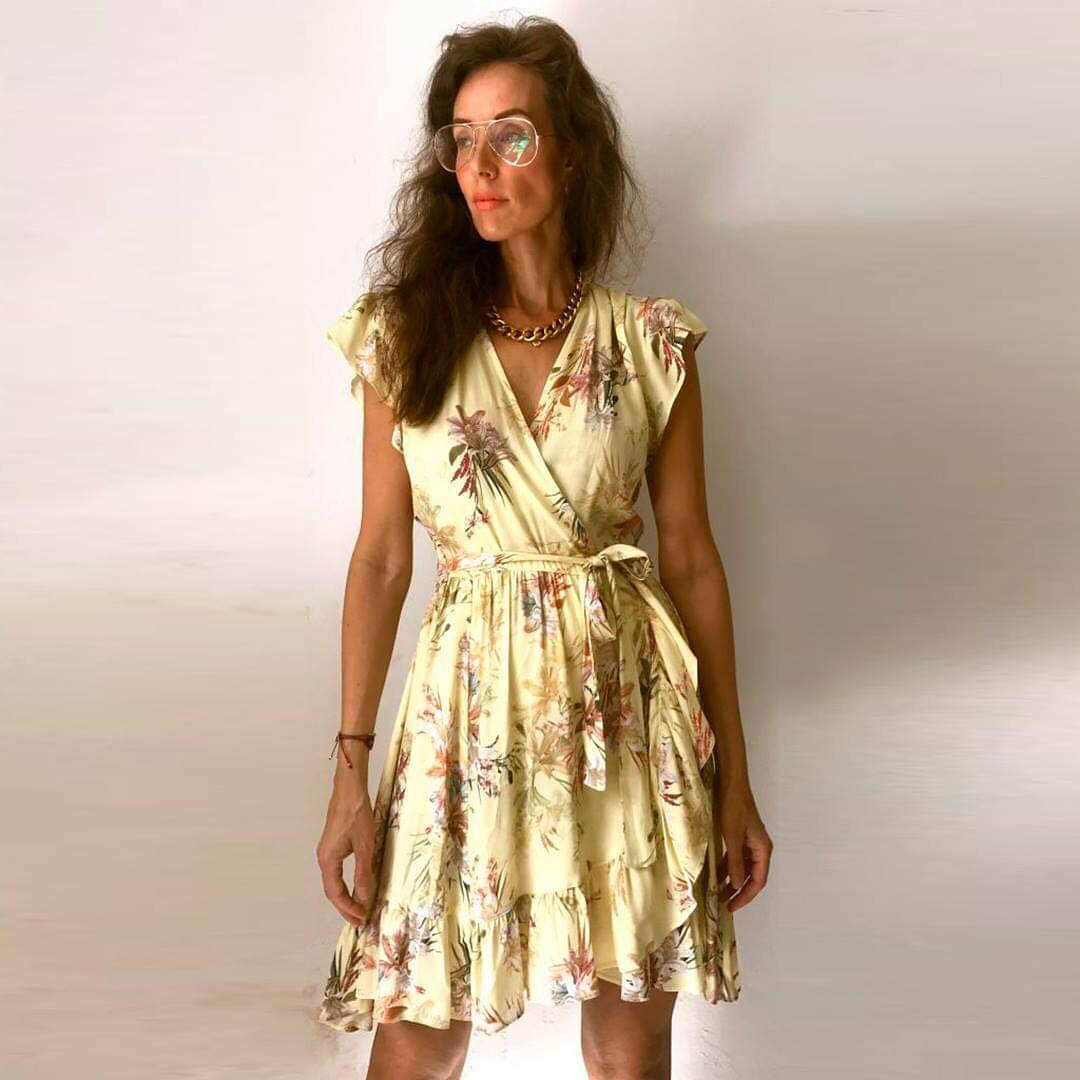 6a642629160 Slå-om kjole fra Ravn i str. S til 1.900 kr. (Tilbud på bl.a. Mollyogmy.dk)