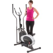 Fitness Reality E2000 Durable Fan Elliptical Trainer with Heart Rate System
