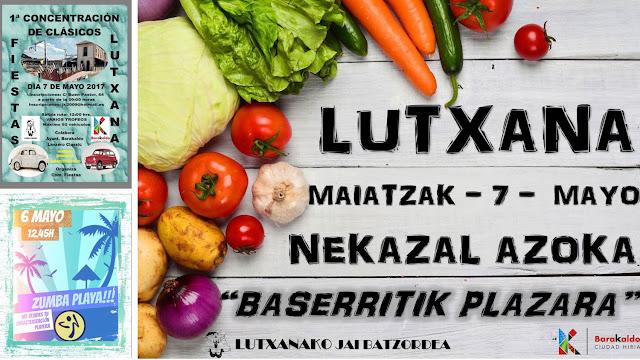 Actividades de las fiestas de Lutxana