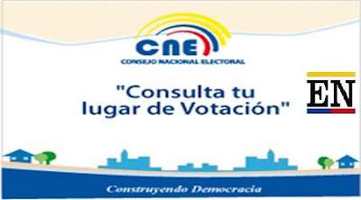 lugar de votacion ecuador