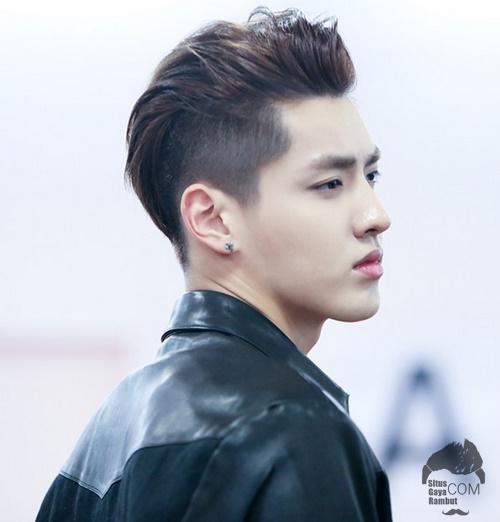 model gaya rambut korea pria