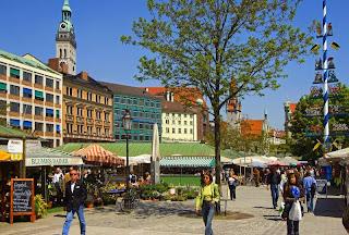 Viktualienmarkt de Munich