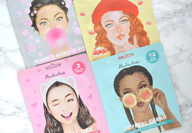 "GIVEAWAY | MaskerAide ""FUN"" Sheet Masks!"