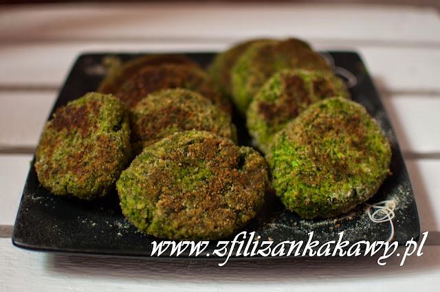 Kotleciki z jarmużu z nasionami chia