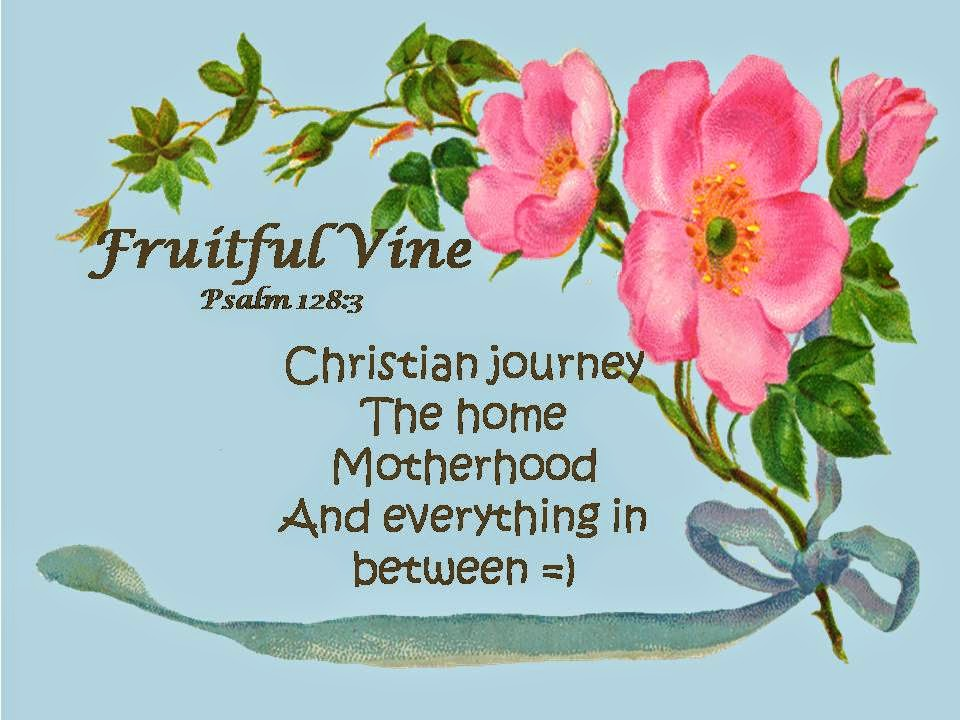 fruitful vine
