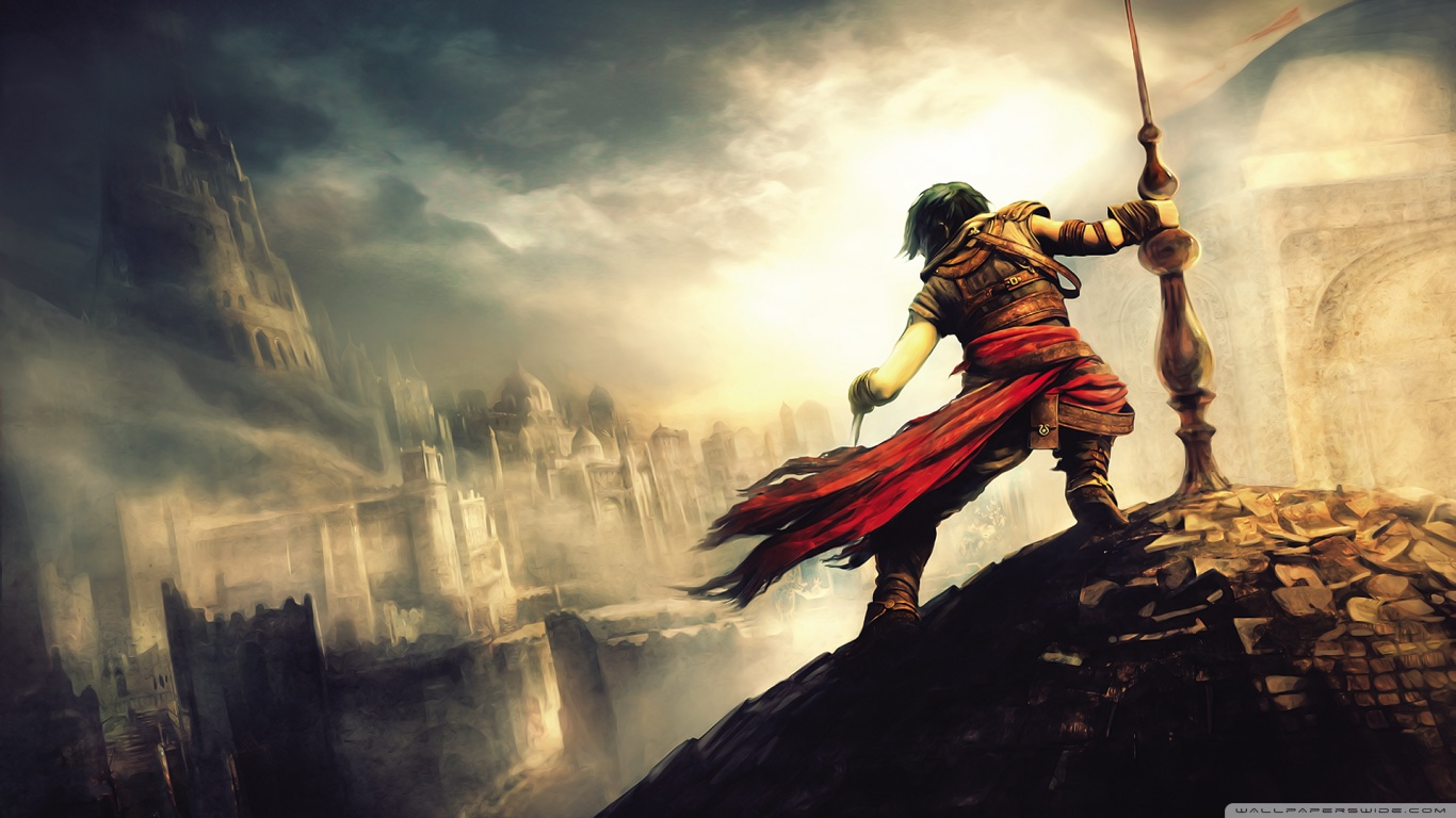 Gamingeneration prince of persia 1366x768 hd wallpapers - Prince wallpaper ...