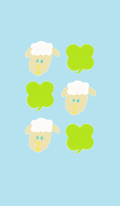 Sheep theme(light blue)